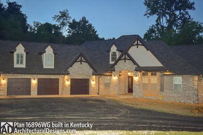 House Plan 16896WG Comes To Life In Kentucky! - photo 001