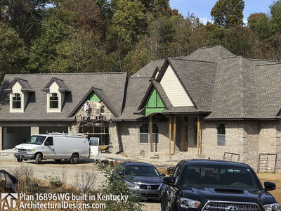 House Plan 16896WG Comes To Life In Kentucky! - photo 002