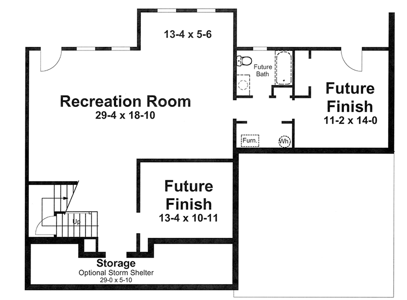Five Bedrooms With Expansion Possibilities