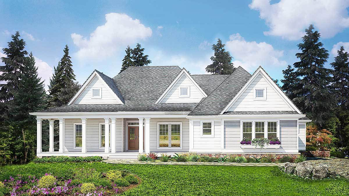 3 Bedroom House Plans - Architectural Designs