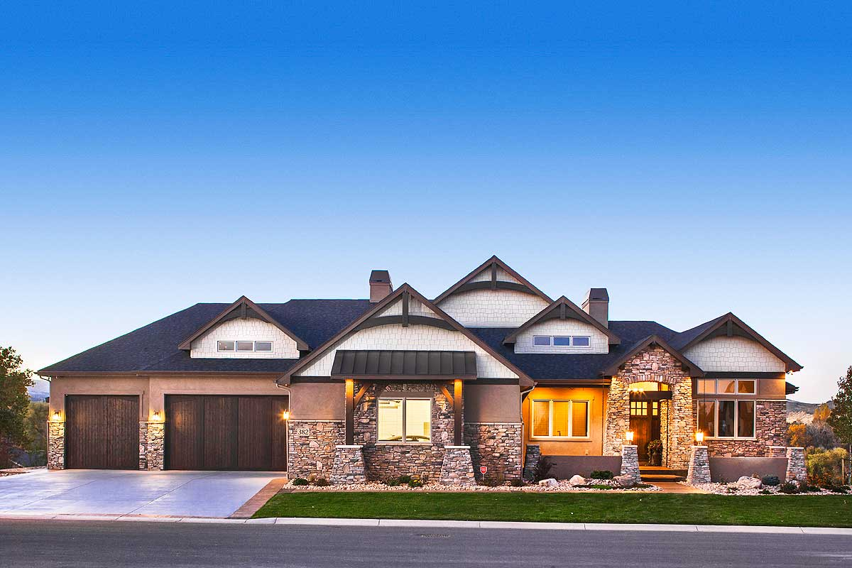 Luxurious Craftsman Home with Car Collector s Garage