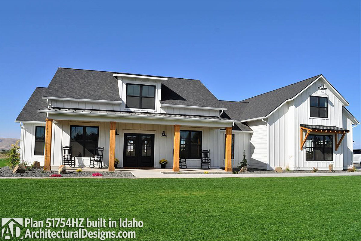 House Plan 51754HZ Comes To Life In Idaho