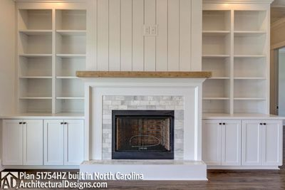 Modern Farmhouse Plan 51754HZ comes to life in North Carolina - photo 013