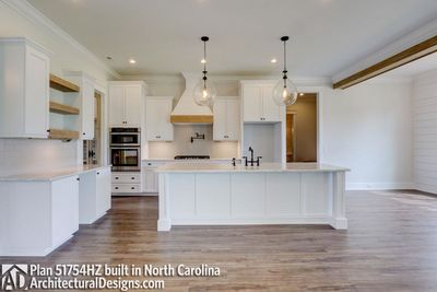 Modern Farmhouse Plan 51754HZ comes to life in North Carolina - photo 016
