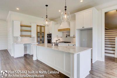 Modern Farmhouse Plan 51754HZ comes to life in North Carolina - photo 017