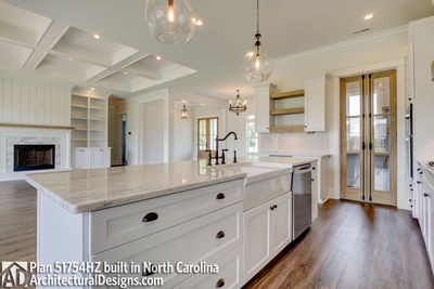 Modern Farmhouse Plan 51754HZ comes to life in North Carolina - photo 018