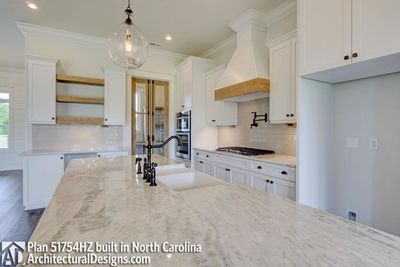 Modern Farmhouse Plan 51754HZ comes to life in North Carolina - photo 019