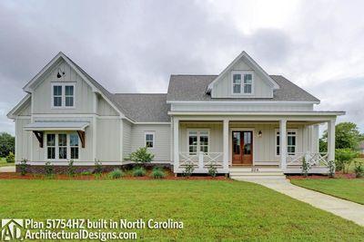 Modern Farmhouse Plan 51754HZ comes to life in North Carolina - photo 001