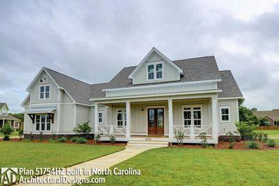 Modern Farmhouse Plan 51754HZ comes to life in North Carolina - photo 002