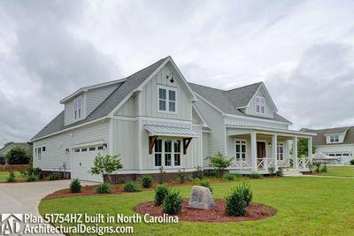 Modern Farmhouse Plan 51754HZ comes to life in North Carolina - photo 003