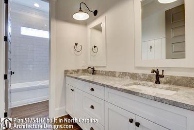 Modern Farmhouse Plan 51754HZ comes to life in North Carolina - photo 040