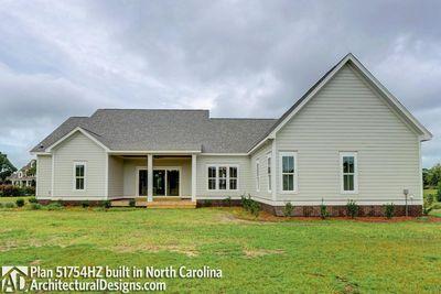Modern Farmhouse Plan 51754HZ comes to life in North Carolina - photo 048