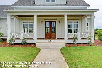 Modern Farmhouse Plan 51754HZ comes to life in North Carolina - photo 005