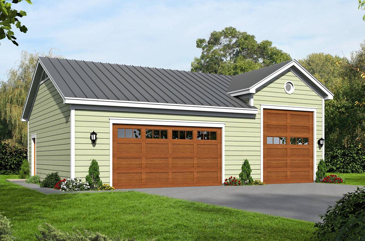 Garage With Rv Bay 68449vr Architectural Designs