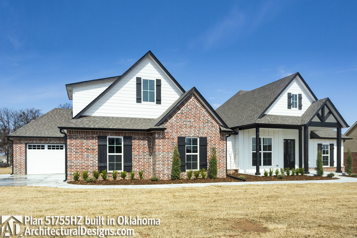 House Plan 51755HZ comes to life in Oklahoma - photo 001