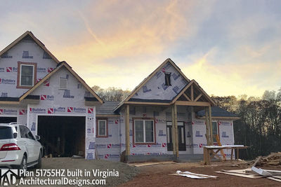 House Plan 51755HZ comes to life in Virginia - photo 044