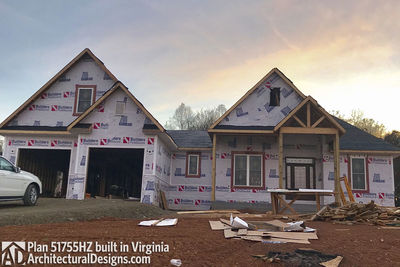House Plan 51755HZ comes to life in Virginia - photo 045
