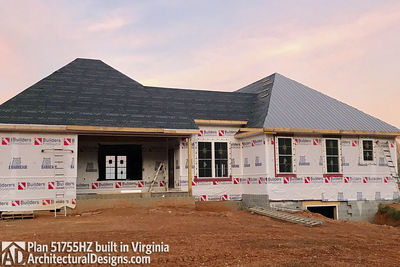 House Plan 51755HZ comes to life in Virginia - photo 046