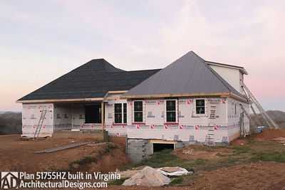 House Plan 51755HZ comes to life in Virginia - photo 047