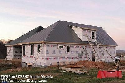 House Plan 51755HZ comes to life in Virginia - photo 049