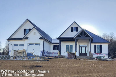 House Plan 51755HZ comes to life in Virginia - photo 002