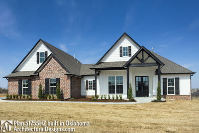 House Plan 51755HZ comes to life in Oklahoma - photo 002
