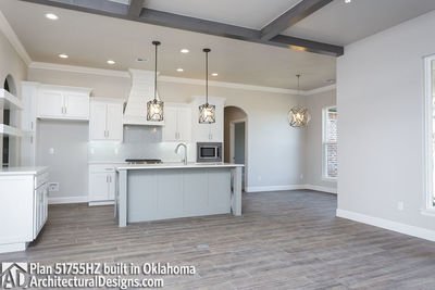 House Plan 51755HZ comes to life in Oklahoma - photo 005