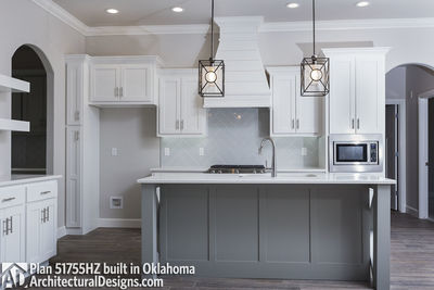 House Plan 51755HZ comes to life in Oklahoma - photo 006