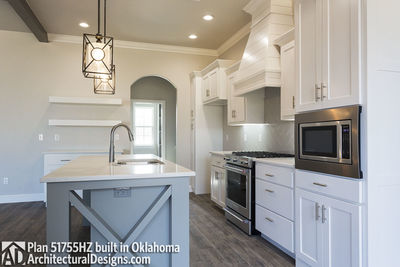 House Plan 51755HZ comes to life in Oklahoma - photo 007