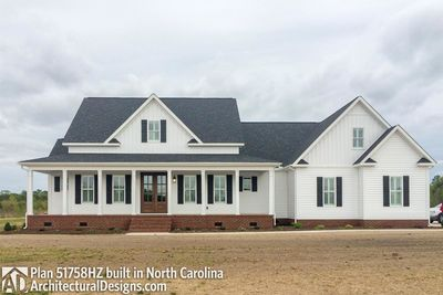 House Plan 51758HZ comes to life in North Carolina! - photo 001