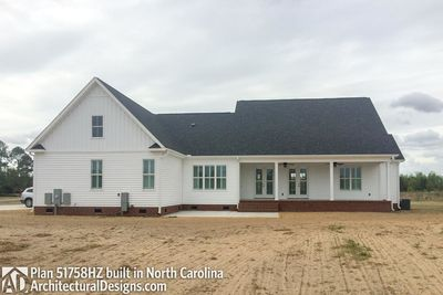 House Plan 51758HZ comes to life in North Carolina! - photo 002
