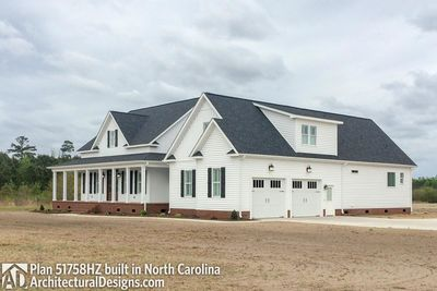House Plan 51758HZ comes to life in North Carolina! - photo 003