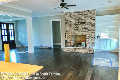 House Plan 51758HZ comes to life in South Carolina - photo 002