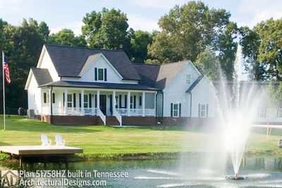 Farmhouse Plan 51758HZ comes to life in Tennessee! - photo 001