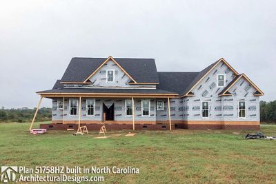 House Plan 51758HZ comes to life in North Carolina! - photo 016