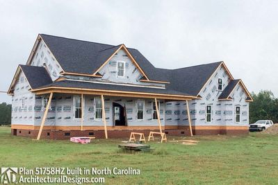 House Plan 51758HZ comes to life in North Carolina! - photo 017