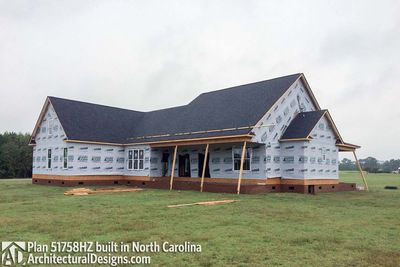 House Plan 51758HZ comes to life in North Carolina! - photo 018