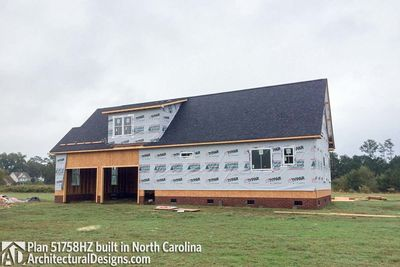 House Plan 51758HZ comes to life in North Carolina! - photo 019