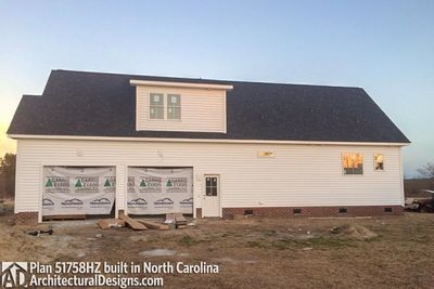 House Plan 51758HZ comes to life in North Carolina! - photo 015