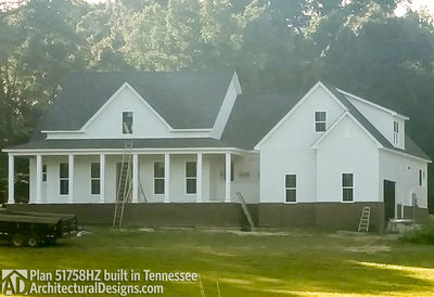 Farmhouse Plan 51758HZ comes to life in Tennessee! - photo 005