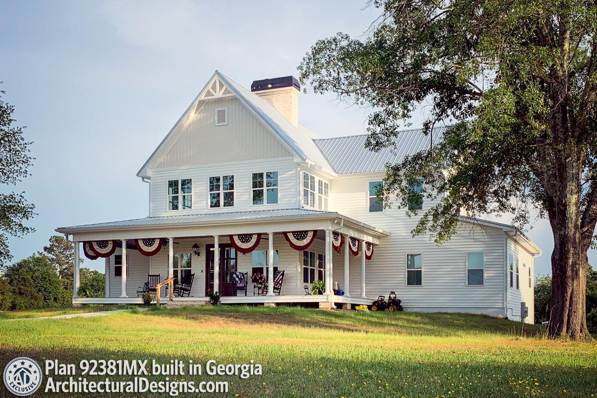Farmhouse Plans Architectural Designs