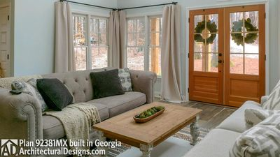 Modern Farmhouse Plan 92381MX built in Georgia - photo 006