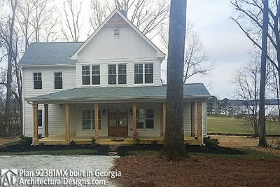 Modern Farmhouse Plan 92381MX built in Georgia - photo 002
