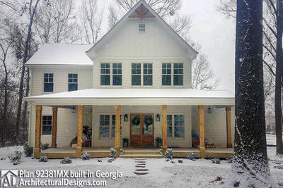 Modern Farmhouse Plan 92381MX built in Georgia - photo 001