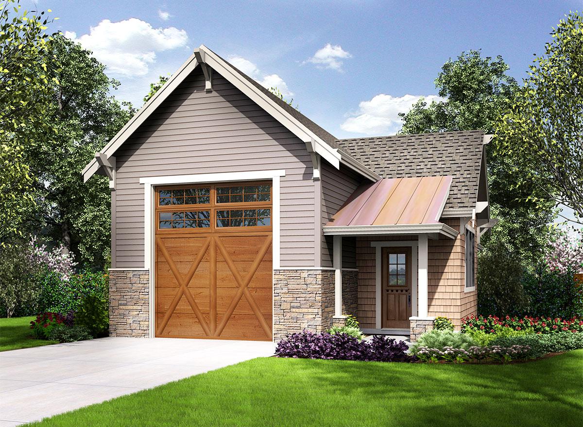 Craftsman Style RV Garage - 23664JD | Architectural ...