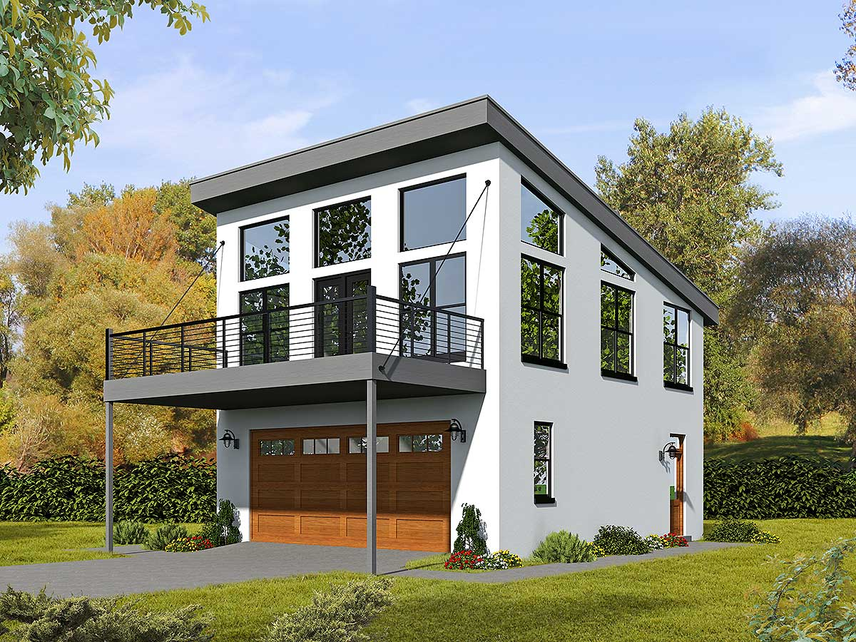 68461vr 1485983721 - View Small Modern House Design With Garage  PNG