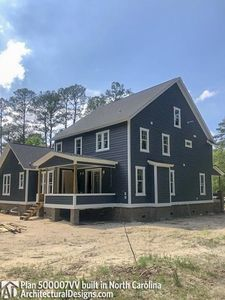 House Plan 500007VV comes to life in North Carolina - photo 005