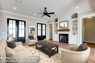 Modern Farmhouse Plan 51762HZ Comes to Life in Mississippi - photo 004