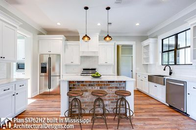 Modern Farmhouse Plan 51762HZ Comes to Life in Mississippi - photo 003