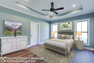 Modern Farmhouse Plan 51762HZ Comes to Life in Mississippi - photo 005